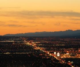 Las Vegas Nevada Desert Night HD picture 01