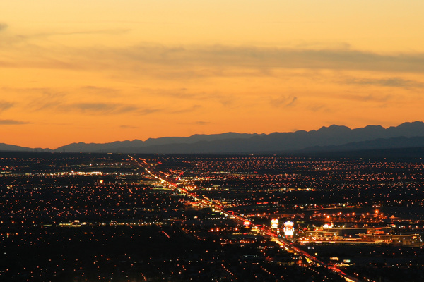 Las Vegas Nevada Desert Night HD picture 09 free download