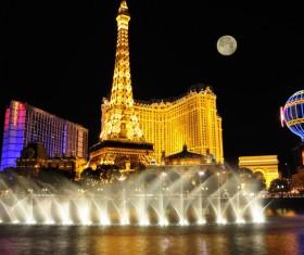Las Vegas Nevada Desert Night HD picture 02