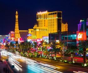 Las Vegas Nevada Desert Night HD picture 07