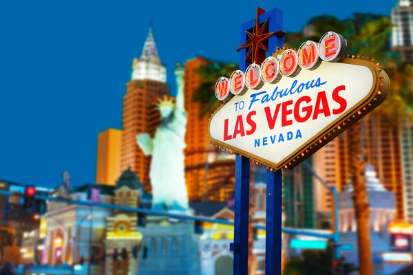 Las Vegas Nevada Desert Night HD picture 01 - Buildings