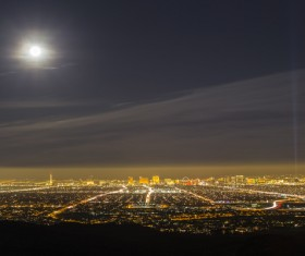 Las Vegas Nevada Desert Night HD picture 14