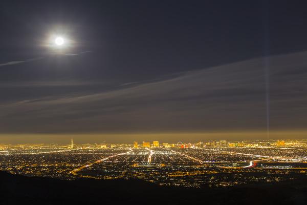 Las Vegas Nevada Desert Night HD picture 11 - Buildings