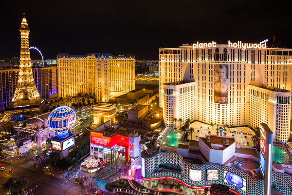 Las Vegas Nevada Desert Night HD picture 15 - Buildings