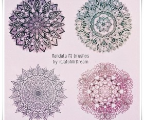 Mandala HD Photoshop Brushes
