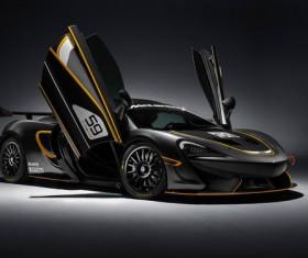 McLaren 570S GT4 Racing Stock Photo