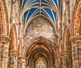 Medieval cathedral Stock Photo