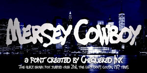 Mersey Cowboy font