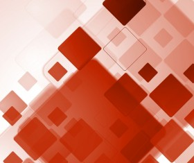 Modern red abstract vectors material
