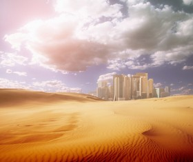 Mysterious Desert Mirage HD picture