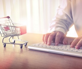 Online shopping payment Stock Photo 06