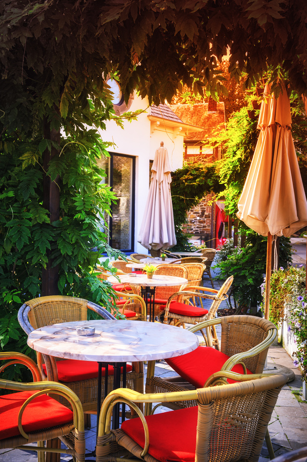 Outdoor Terrace Cafe HD Picture 12 Free Download