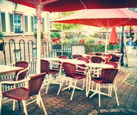 Outdoor terrace cafe HD picture 18
