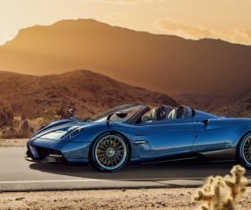 Pagani Huayra Roadster convertible version HD picture