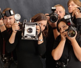 People who take all kinds of cameras HD picture