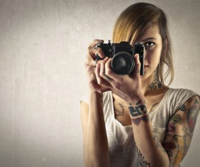 Photographer tattoo HD picture