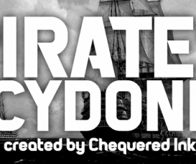 Pirates of Cydonia font