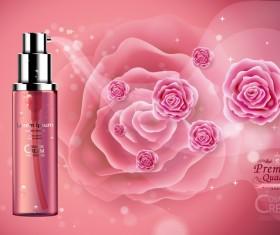 Premium quality cosmetic ream poster vectors 04