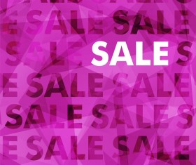 Purple sale background creative vector
