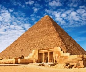 Pyramid of Egypt Stock Photo