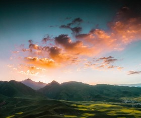 Qinghai Qilian Duoer Mountain scenery HD picture