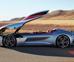 Renault Trezor electric concept sports car HD picture