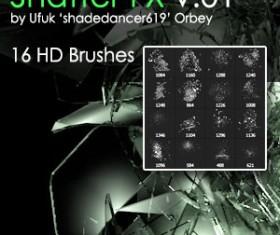 Shatter Photoshop Brushes