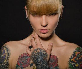 Show tattoo woman HD picture