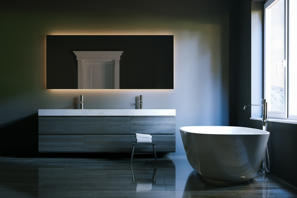 Simple And Elegant Bathroom Decoration Hd Picture 09 Interiors Stock Photo Free Download