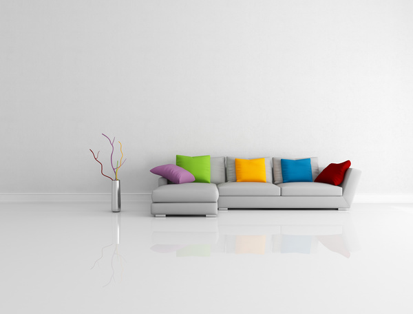 Living Room Hd colored minimalist living room
