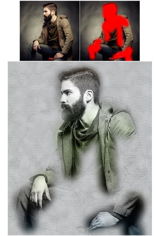 Sketch Photoshop Action