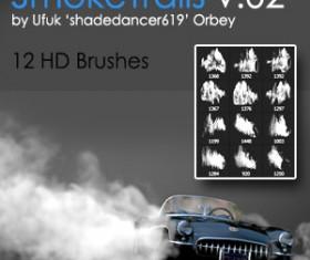 Smoke Trails Photoshop Brushes