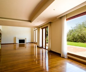 Spacious and bright large living room HD picture