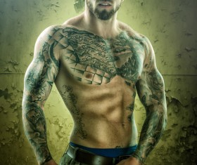 Tattoo man HD picture