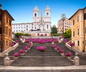 The birthplace of the splendid culture of the Roman world Stock Photo 11