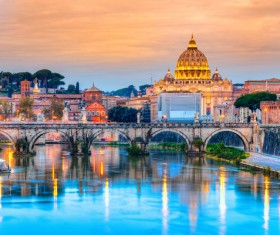 The birthplace of the splendid culture of the Roman world Stock Photo 12