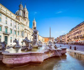 The birthplace of the splendid culture of the Roman world Stock Photo 13