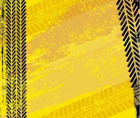 Tire traces grunge background vector