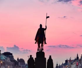 Travel City Prague Stock Photo 01