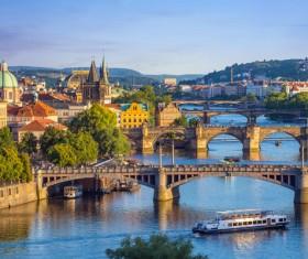Travel City Prague Stock Photo 03