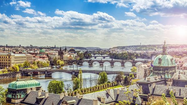 Travel City Prague Stock Photo 04