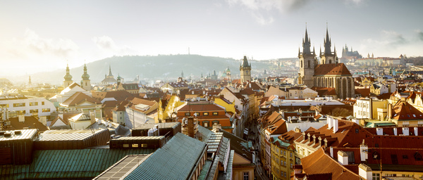 Travel City Prague Stock Photo 05