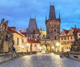 Travel City Prague Stock Photo 06