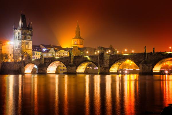 Travel City Prague Stock Photo 09