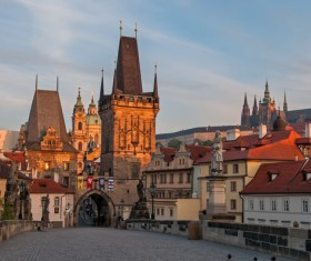 Travel City Prague Stock Photo 10