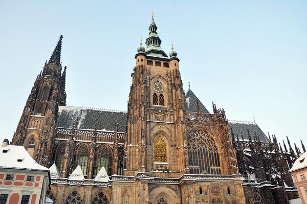 Travel City Prague Stock Photo 12