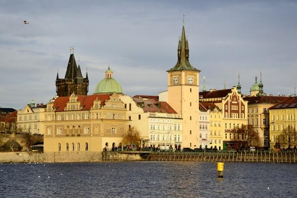 Travel City Prague Stock Photo 13