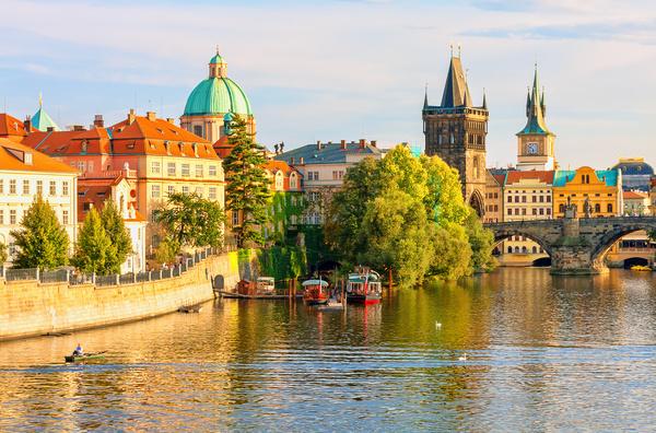 Travel City Prague Stock Photo 21