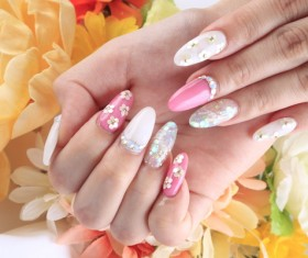 Various styles of nail Stock Photo 07