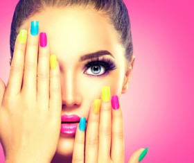Various styles of nail Stock Photo 08